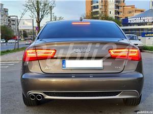 Audi A6 impecabil  2012 / 2.0 TDI 177 cp full options neon- camera- piele inmatri RO.2020 - imagine 7