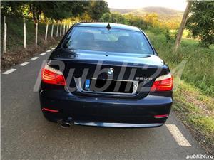 BMW 520d 2008 facelift,177cp,automata joystick,piele - imagine 5
