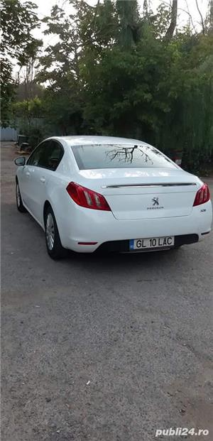 Peugeot 508 PEUGEOT 508. PEUGEOT 508, varianta 8D9HL<br>An fabricatie: 2011<br>Caroserie : Berlina<br>Culoare : Alb<br>Capacitate cilindrica:1560<br>Putere: 111
