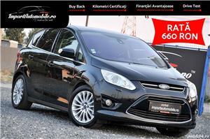Ford C-Max Ford C-MAX. ///Ford C-MAX 2.0 TDCI 163CP///<br><br>*Echipare TITANIUM<br>*EURO 5<br><br>*Prima inmatriculare: 12.2011<br>*Transmisie manuala
