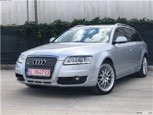 Audi A6 Allroad 3.0Tdi 240C.p Quattro /Automata/Bi-Xenon/Navigatie/Piele/Import Germania CREDITARE AUTO PENTRU PERSOANE FIZICE !!!!<br>SE ACCEPTA ORICE TIP DE VENIT DECLARAT (salarii, pensii, chirii, diurne externe,etc)<br>Oferim sprijin